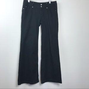 Michael Kors Black Jeans Hippy Boho Flare 10
